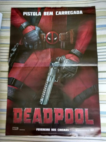 Poster Filme Deadpool Original