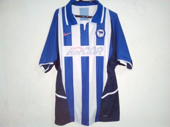 Camisa Do Hertha De Berlim Temporada Ano 2002/2003 Nike