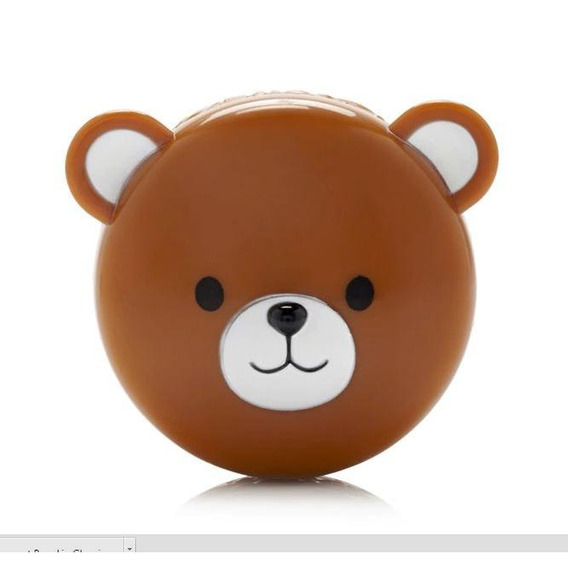 Bear Lip Gloss - Urso - Coconut