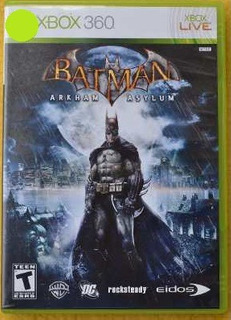 Batman Arkham Asylum Xbox 360 Play Magic