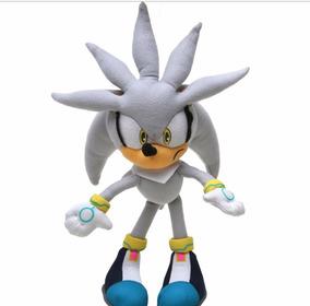 Pelúcia Silver - Sonic The Hedgehog Game - 35 Cm Sega