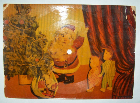Argentina - Tarjeta Postal Sonora Feliz Navidad Usada L1426
