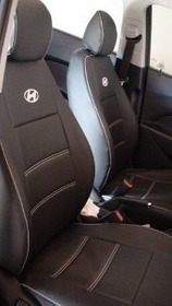 Capas De Couro Sintético Do Hyundai Hb 20 Hatch E Sedam