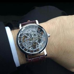 Relógio T Winner Mecânico Transparente De 249,00 Por 129,