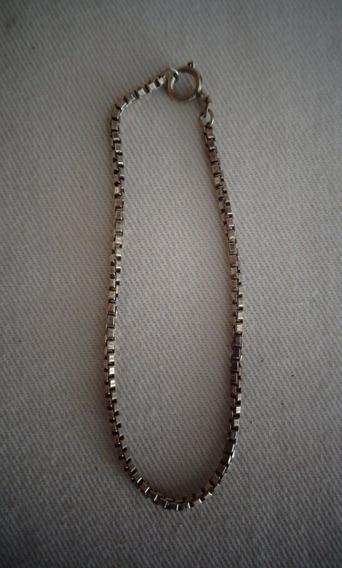Pulseira Prata De Lei N°34 Antiga 4,gramas