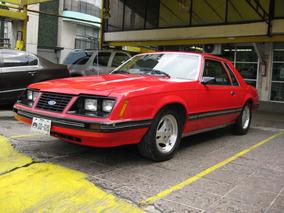 Mustang Clasico Rojo 1984