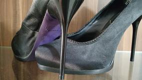 5c71bdb9c Sapato Meia Pata Datelli Preto - Sapatos no Mercado Livre Brasil