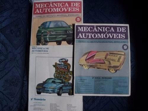 Livro - Lote 03 Revistas - Mecanica De Automoveis