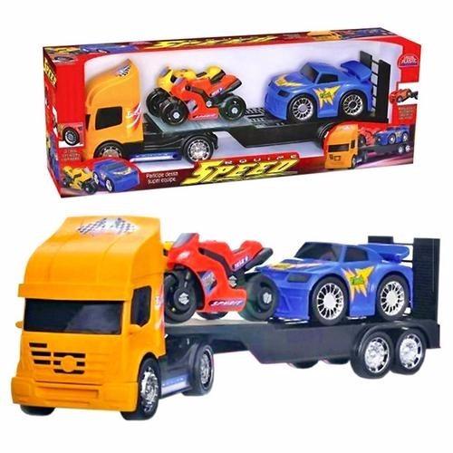 Caminhão Cegonha Brinquedo Infantil Brincar - Usual Plastic