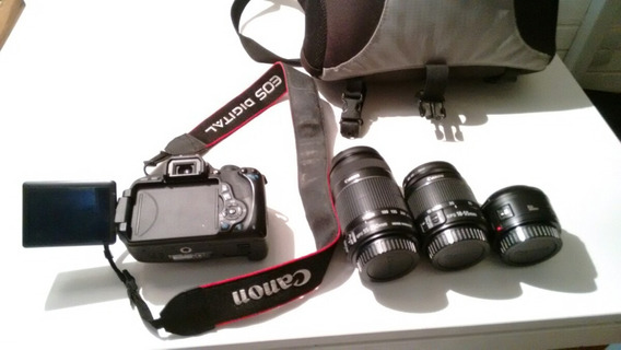 Canon 600d / Rebel T3i