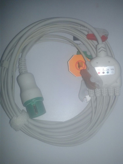 Cabo Paciente Ecg 5 Vias Compatível Spacelabs Ultraview