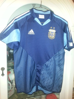 Jersey Playera Seleccion Argentina adidas Año 2003 Juvenil