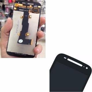 Tela Display Lcd Touch Vidro Motorola Moto E2 Geração Preto