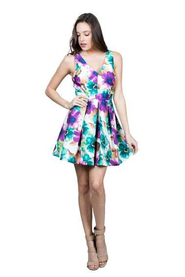Vestido De Coctel Ark & Co. Con Estampado Floral