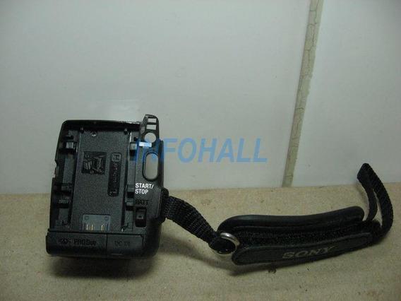 Compartimento Bateria Mais Alça Filmadora Sony