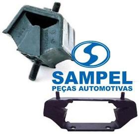 Kit 02 Calço Coxim Motor Câmbio Omega / Suprema 3.0 4.1 Novo