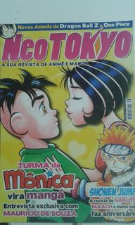 Revista Neo Tokyo 38 Inicio Do Manga Turma Da Monica Jovem