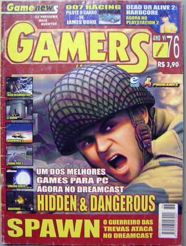 Revista Gamers Ano 5 N° 76 - Hiden E Dangerous
