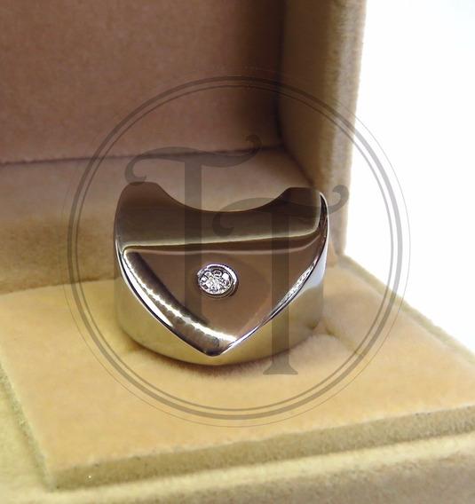 Collar Corazón Morellato En Titanio 18k Con Diamante 3 Pts