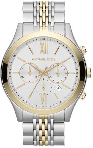 Relógio Michael Kors Mk8306 Brookton Orig Gold Silver