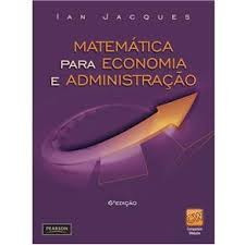 Matemática Para Economia E Administração