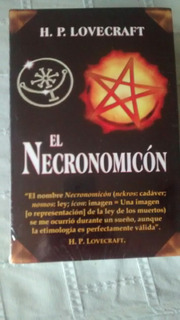 Libro El Necronomicon / H. P. Lovecraft