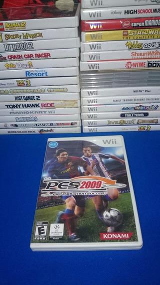 Pes 2009 Pro Evolution Soccer 09 Nintendo Wii Original Ntsc