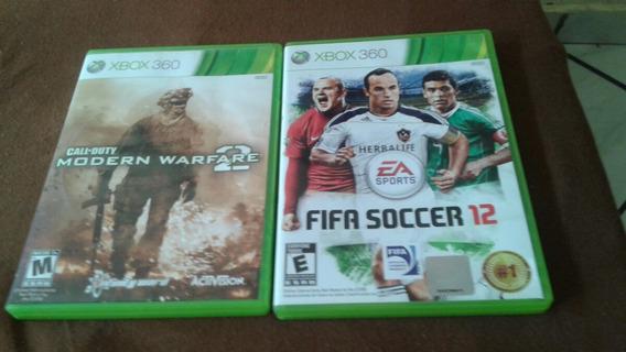 Dois Jogos Xbox 360 Original