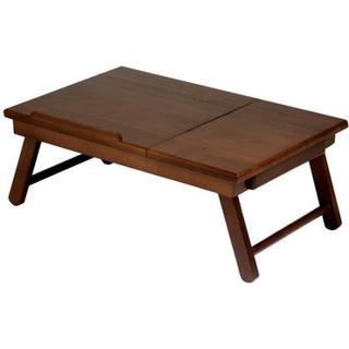 Alden Lap Desk / Bandeja De Cama Con Cajón De La Nuez