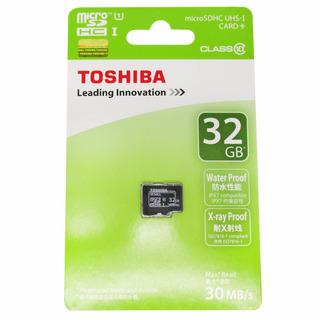 Memoria Microsd De 32gb Clase 10 Uhs-1 Toshiba