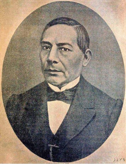 Lienzo Tela Canvas Grabado Benito Juárez García 1868 65x50