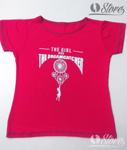 Camiseta/blusa The Girl And The Dreamcatcher #tgatdc