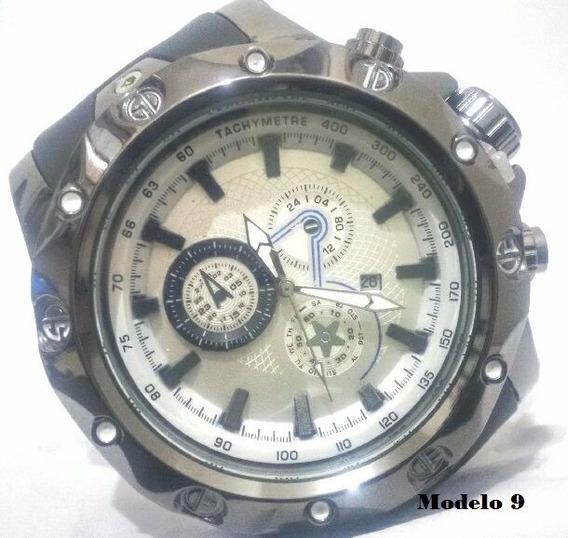 Relógio Dourado Aço Masculino - Promoção Estoque Esgotando