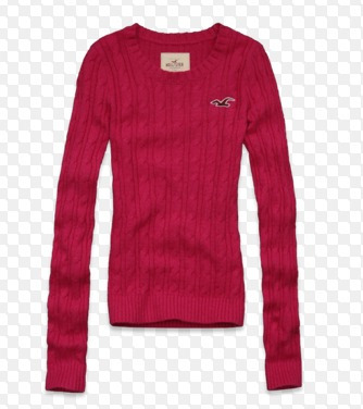 Sweater Hollister P (rosa) Cod 329