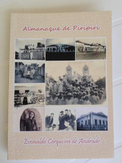 Livro Almanaque De Piripiri - Autor Evonaldo Cerqueira