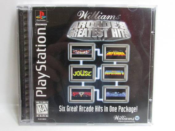Williams Arcade´s Greatest Hits - Play 1 Original Completo