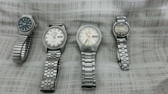 Lote Relógios Automáticos Antigos.