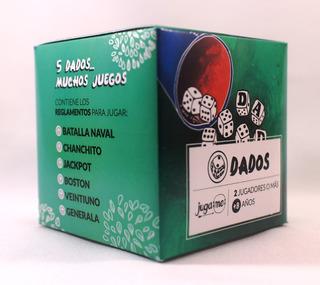Dados - 5 Dados Reglamentos De Varios Juegos - Generala