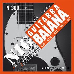 Encordoamento Nig Guitarra Baiana - 0.09-0.47 - Ec0098