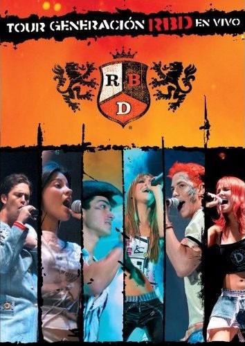 Dvd Original Rbd - Tour Generacion En Vivo