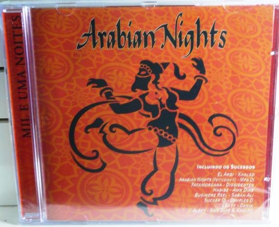 Cd Arabian Nights Novinho Raridade Dance Funk Eletronico Pop