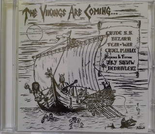 Cd The Vikings Are Coming (coletânea Punk)