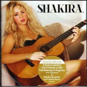 Shakira Edição De Luxe Cd Original Novo Lacrado