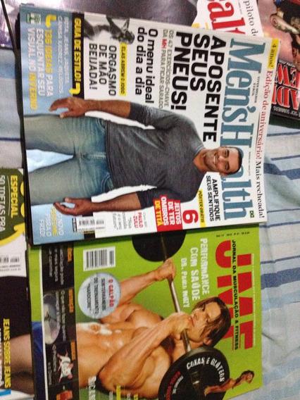 4 Revistas Mens Health/revista Jmf(musculação )