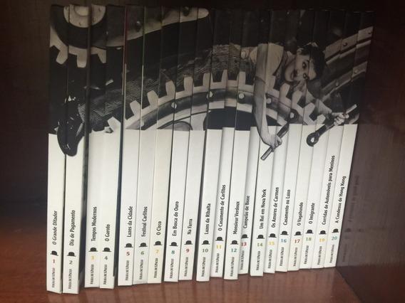 Coleção Folha Charles Chaplin - Completa - Ótimo Estado