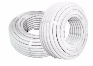 Caño Corrugado Blanco 3/4x 25mts Ignifugo Tecnocom