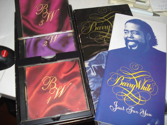 Barry White - Just For You - Box Collection Original