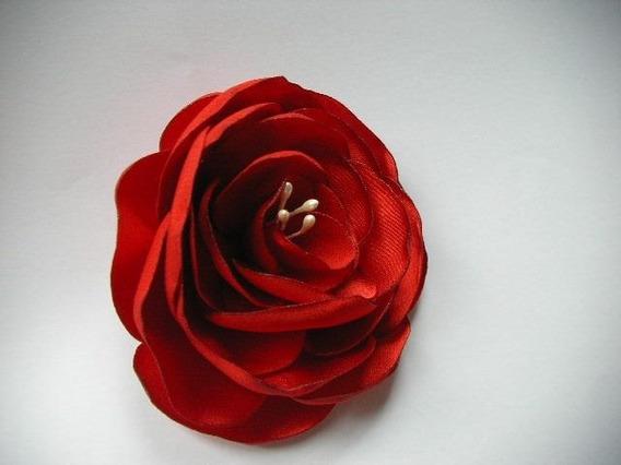 20 Unidades De Flores De Tecido