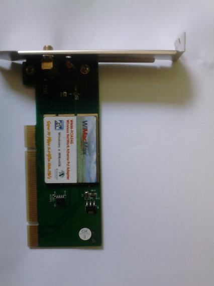 Placa De Rede Wireless Pci Adpter
