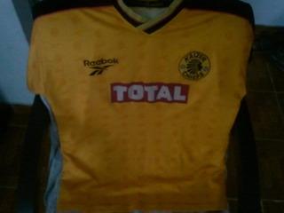 Camisa Raríssima Kaizer Chiefs - África Do Sul - 1999